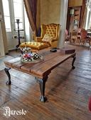 Salontafel 17de eeuws model, antieke meubels - Coffee table 17th century model, antique furniture.