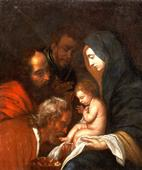 Disciple De Jan Cossiers (1600 - 1671) - The Adoration Of The Magi