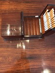 Cigars and cigarettes box mohagany 1950