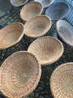 Vintage baskets chairs