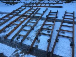 Old fire ladder from germany stil in very good shape