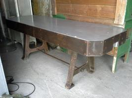 Industrial factory table