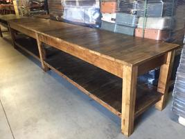 Industrial working table restored