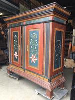 Antique Painted amoire Daily New stock of Antique Industrial Vintage Furniture and Decorative items from Europe We export and shipping worldwide