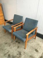 Vintage easy chairs