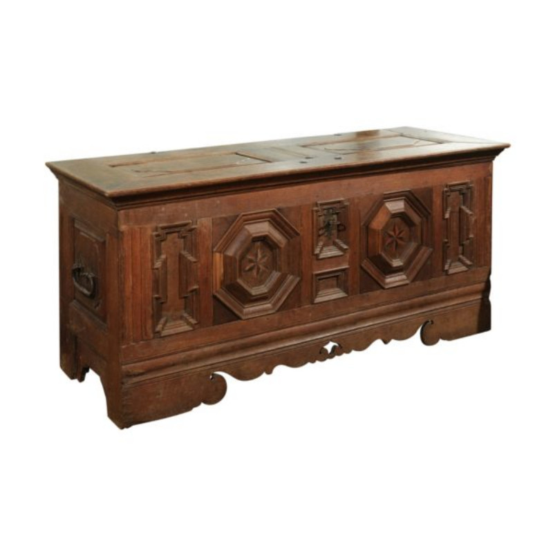 Oak Chest from Eastern France