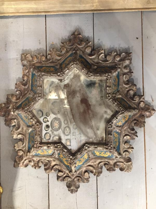 2 Wood Framed Mirrors