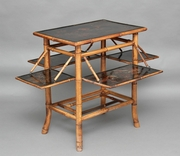 Early 20th Century bamboo table