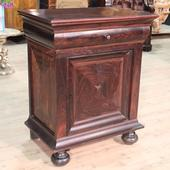 Dutch cupboard in rosewood with a door to be restored of the nineteenth century