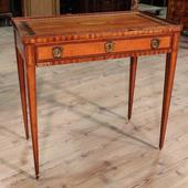 Ancient english desk with drawer Louis XVI to be restored