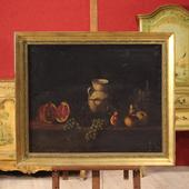 Spanish painting depicting still life of the 20th century