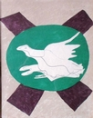 BRAQUE Georges 1882 1963 Oiseau sur fond de X 1958