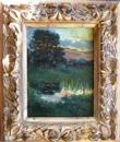 MIKLOS Gustave 1888 1967 landscape 1906