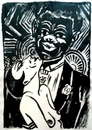 MASEREEL Frans 1889 1972 Louis Armstrong Jazz ca 1929