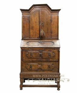 Antique small secretary cabinet