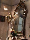 important mirroir louis XV Venise