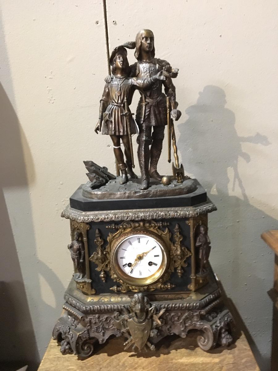 Pendule bronze