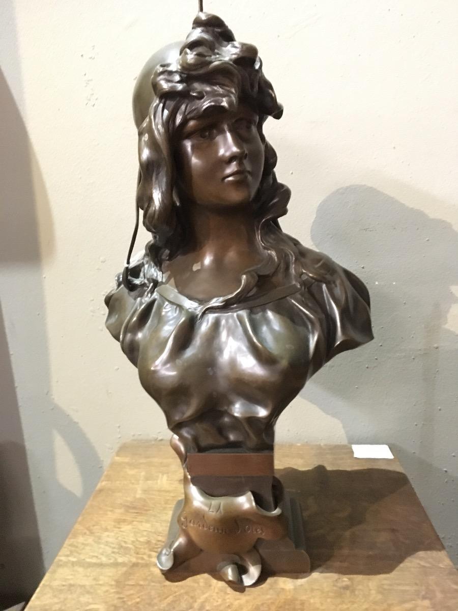 Bronze Buste