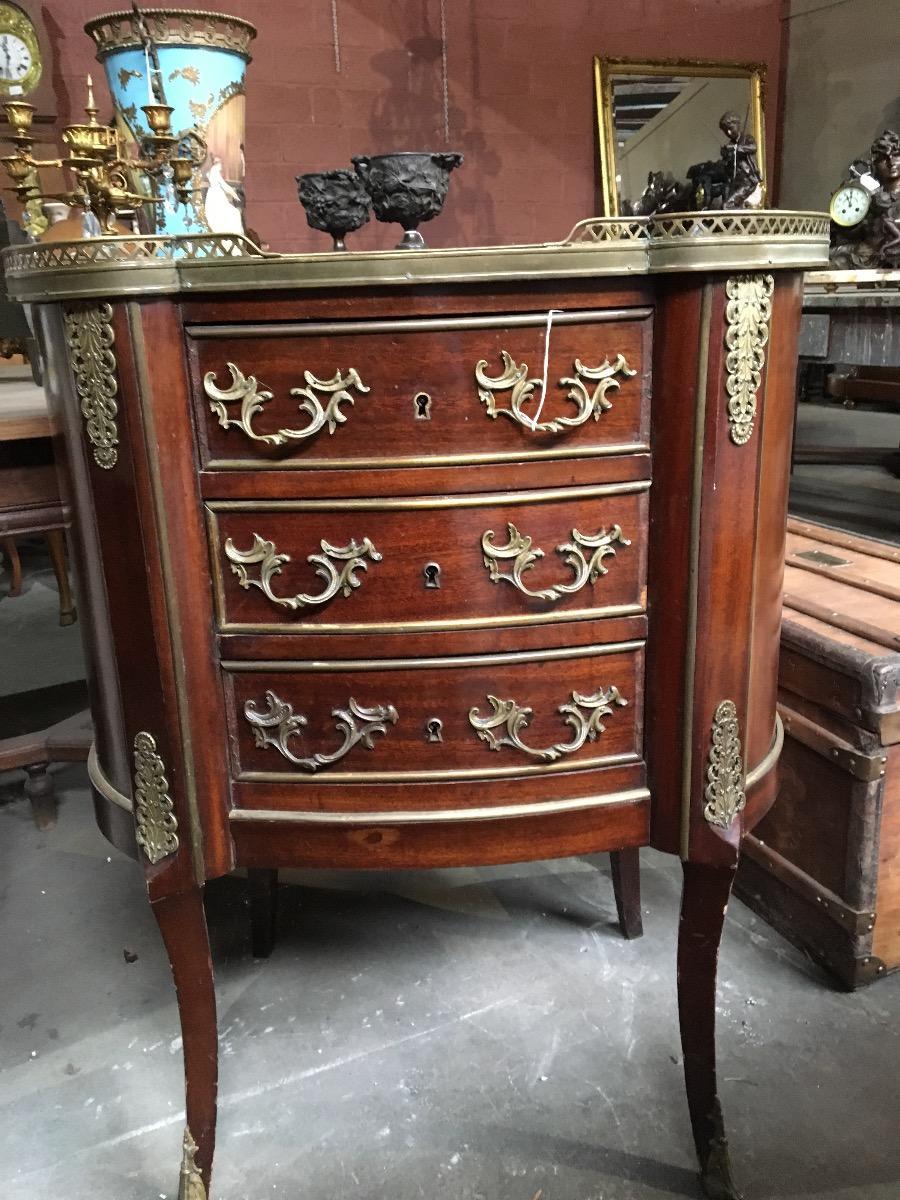 Marquetterie meubel