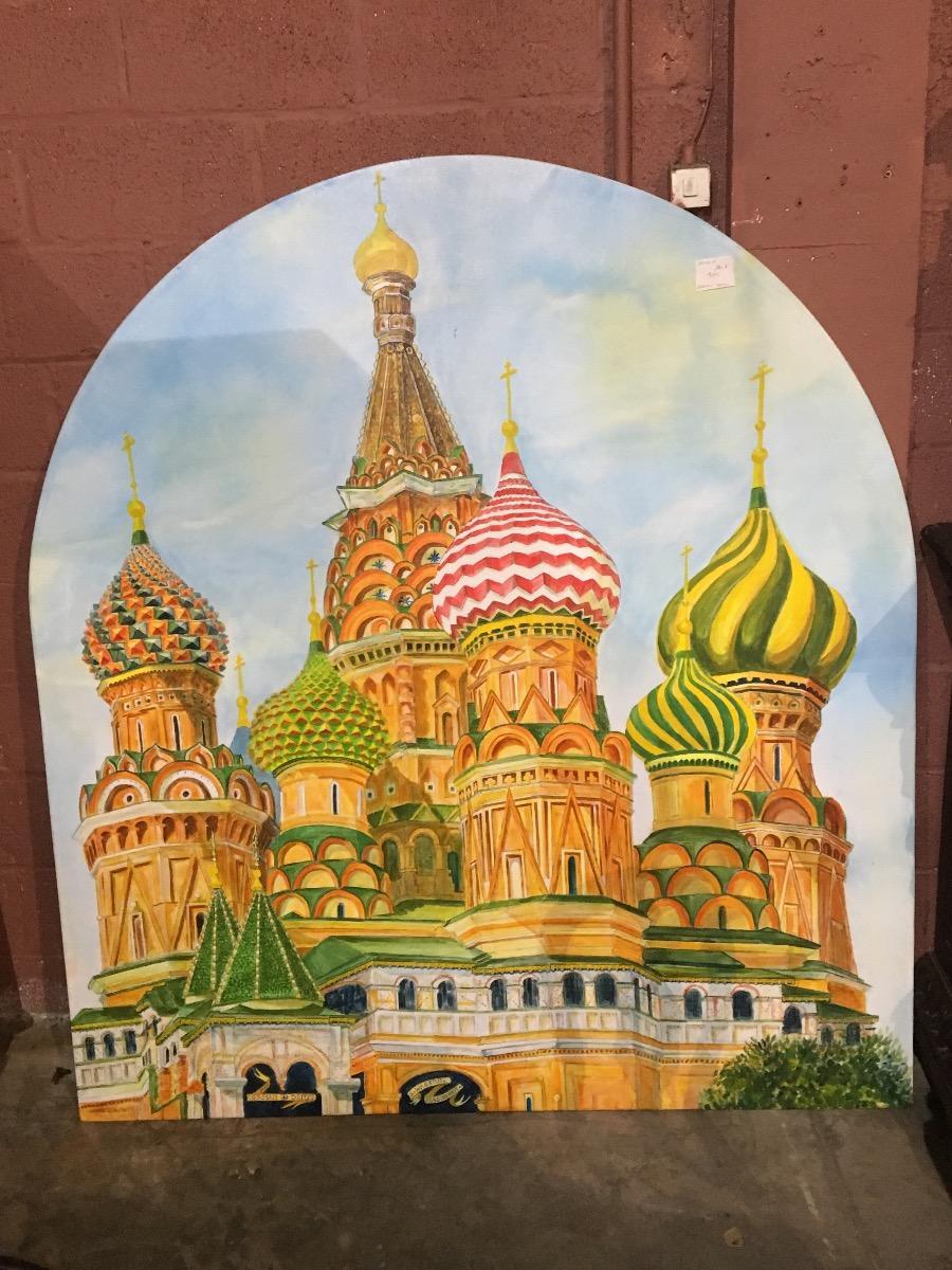 Schilderij ( het Kremlin )