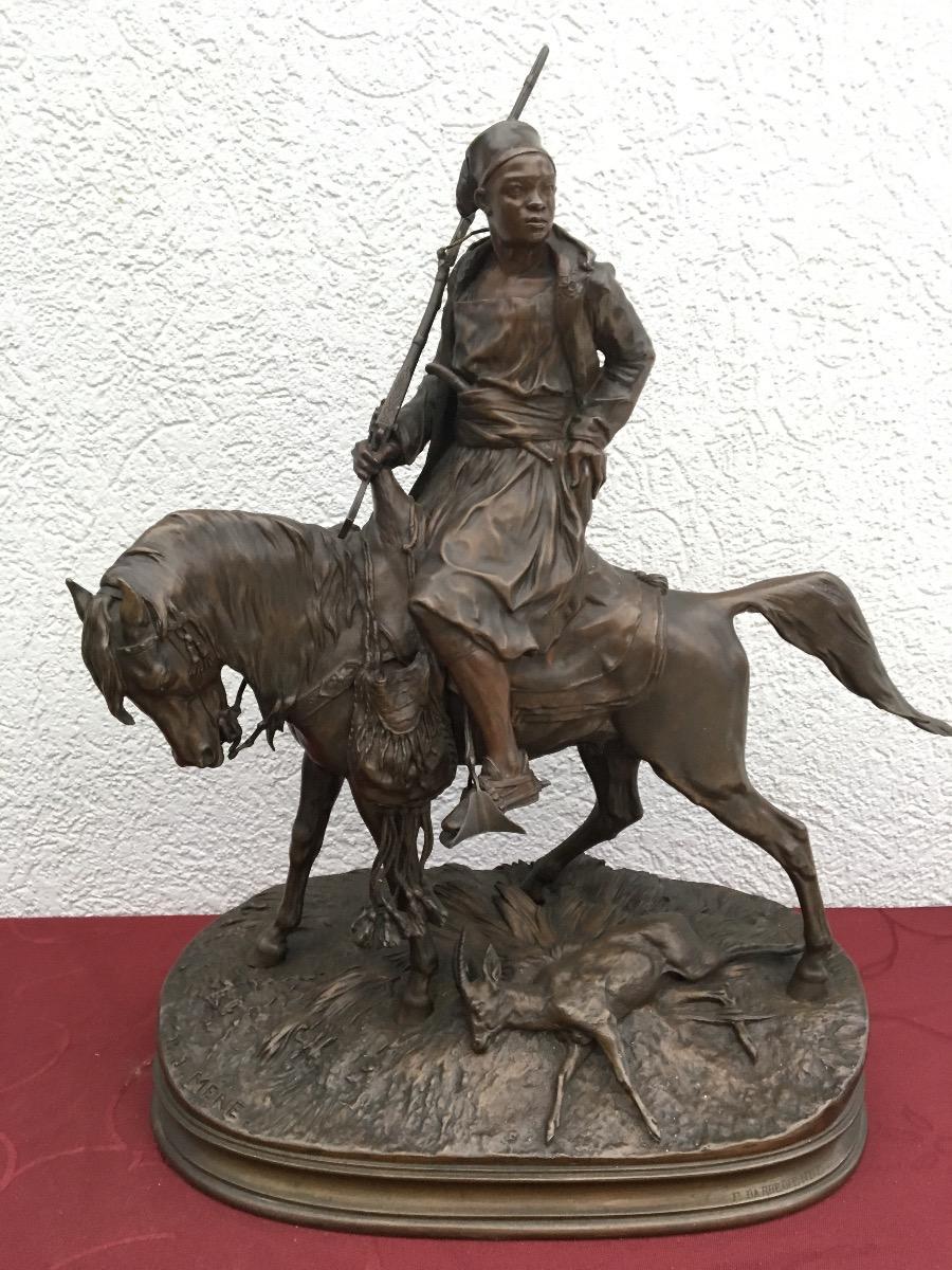 Bronzen beeld ,