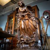 Antique pulpit from 1850 Normandy
