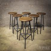 Big Stock Industrial Barstools! From €32,50