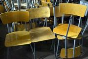 large party of 650 vintage chairs