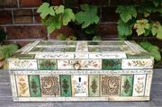 KHOLMOGORY ARKHANGELSK BONE CARVING BOX